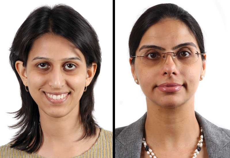 Himanie Katoch  &  Purnima Singh