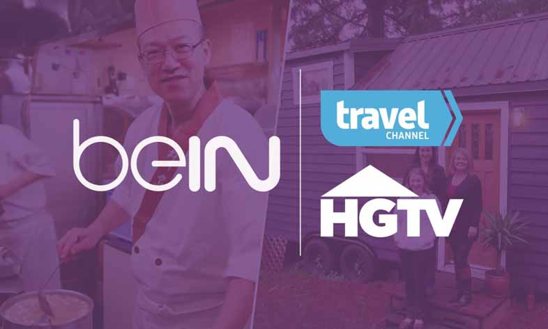 BeIN and Scripps Networks launch new channels, News, Content management