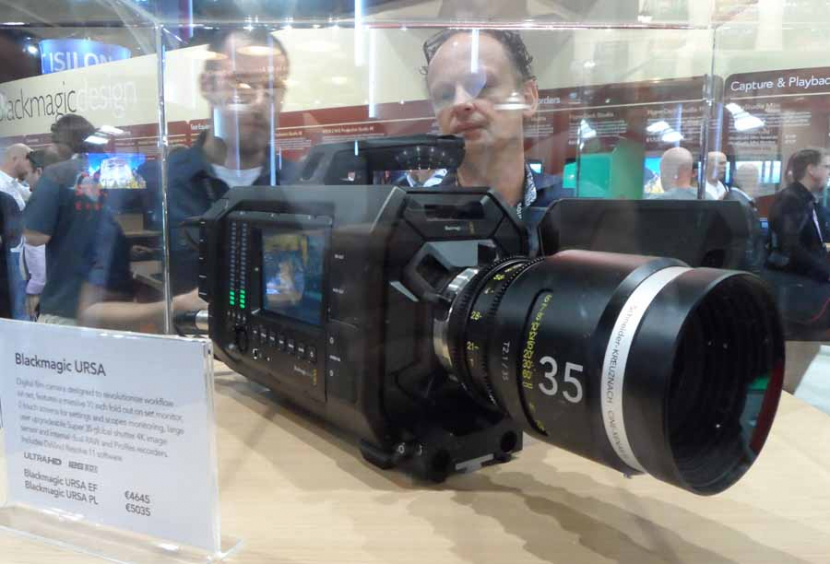 The Blackmagic Ursa will be among the products demonstrated during the roadshow.