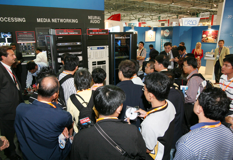BroadcastAsia attracted the crowds again.