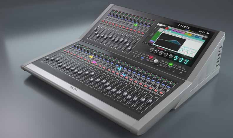 Calrec Audio's new Brio console will make its Asian debut at KOBA 2016 and BroadcastAsia2016.