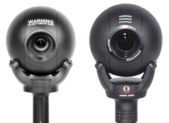 Q-Ball and  Q3 robotic camera heads.