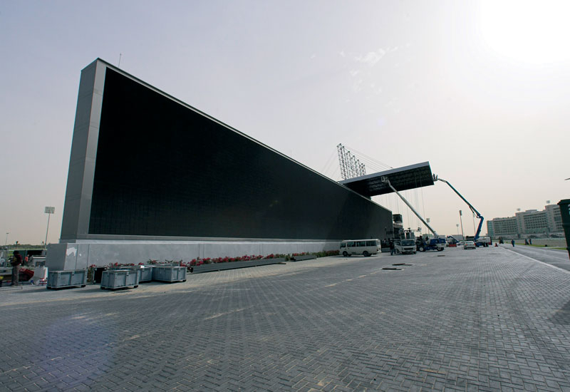 Meydan's mother of all LCD screens.