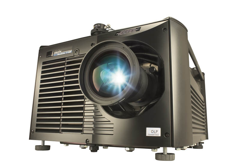 Mediapro recently invested in three additional Christie Roadster 20K projectors.
