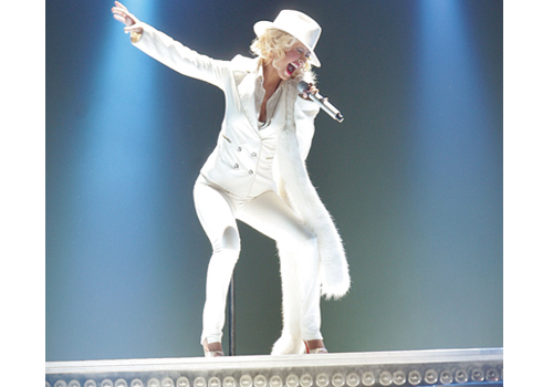 Christina Aguilera's Abu Dhabi show delivered the biggest-budget music production to date in the UAE.
