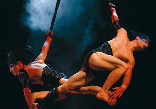 Cirque gets set to dazzle Dubai.