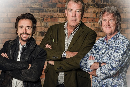 Hammond, Clarkson and May have signed a deal with Amazon.