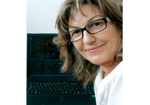 Karen Davies, more popularly known as KC in the editing world, says the new laptop provides power and portability.