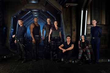 Dark Matter will be among the series to air in MENA on Syfy.
