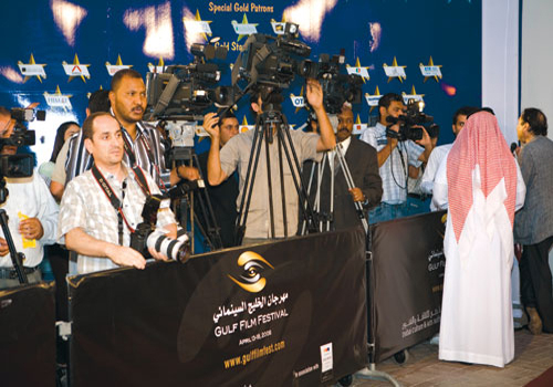 The inaugural edition of the Gulf Film Festival was launched on April 13 in Dubai with the screening of Four Girls, a Bahraini feature film directed b