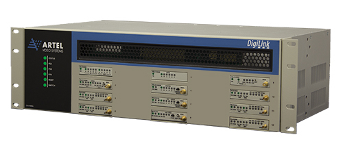 Artel's DigiLink Media Transport Chassis is one of their most popular products