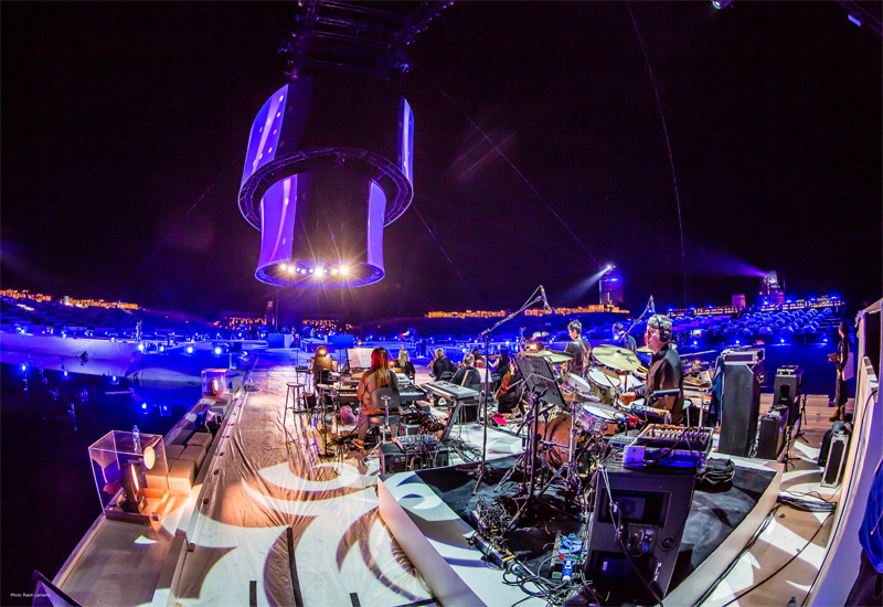 70 percent of equipment used in the two-night Gala Dinner event was sourced from Dubai