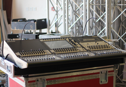 The SD8 console recently purchased by eclipse staging services.