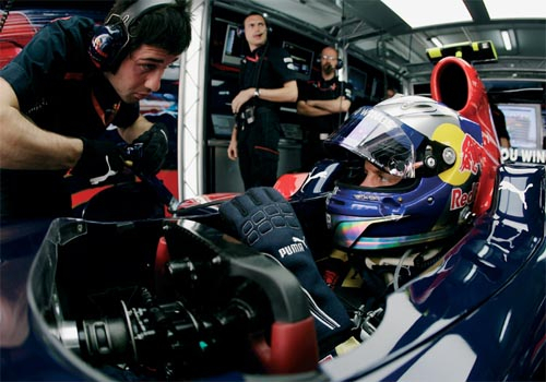 Riedel supplies communications technologies to F1 race crews and drivers.