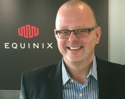 Tony Bishop, vice president, Equinix.