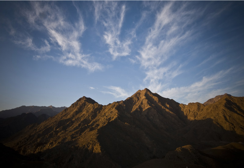 Fujairah's scenery could prove attractive to producers.