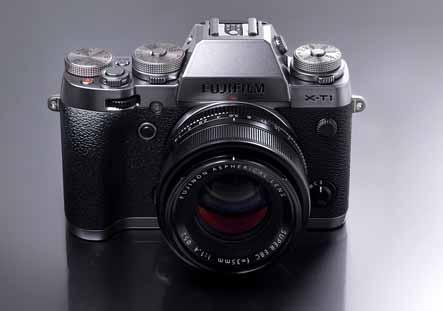 The Fujifilm X-T1 Silver Graphite Edition.