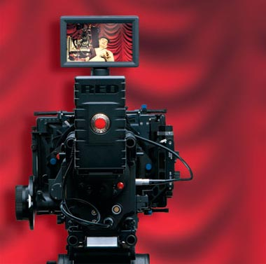 Gosling lauds the Red One camera as the newest sensation on the market.