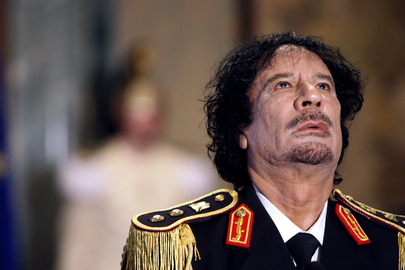 Historical video archives of Libyan leader to be preserved.