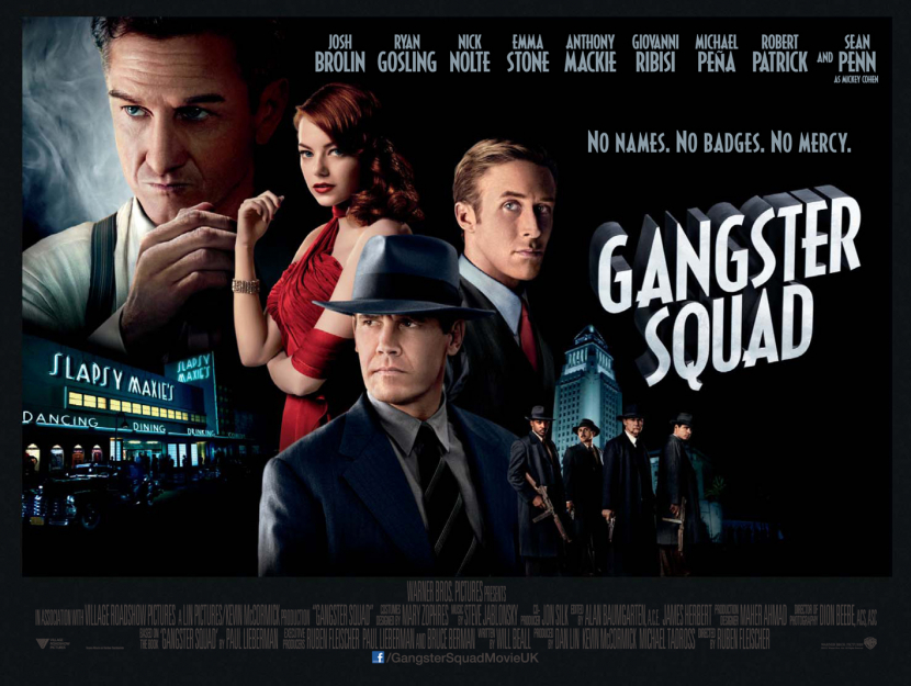 Gangster Squad hobbled in at number 7, drawing 7.2 million downloads worldwide.