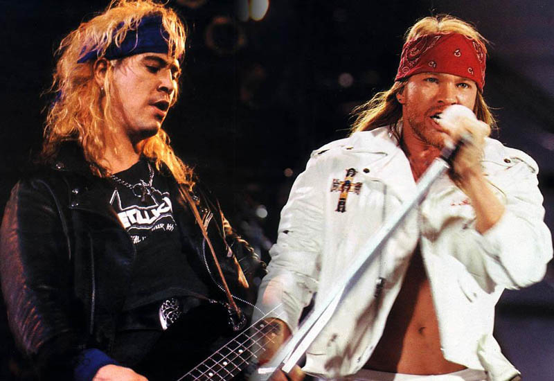 Guns N' Roses are no strangers to controversy, previous concerts have ended in riots and violent brawls between Axl Rose and audience members.