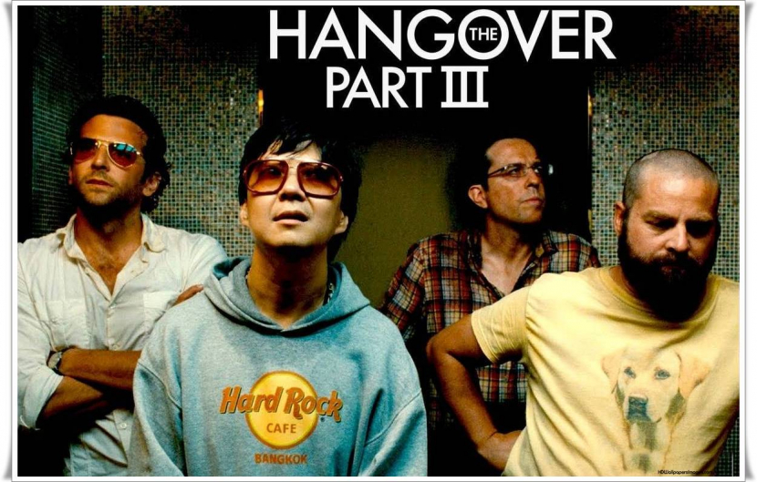 The Hangover Part 3 came in at number 9 with 6.9 million downloads.