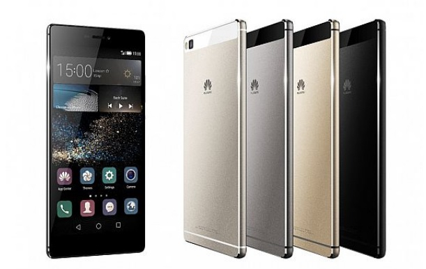 Huawei's P8 and P8 Max smartphones.