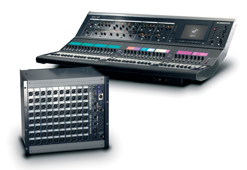 ALLEN & HEATH iLive series.