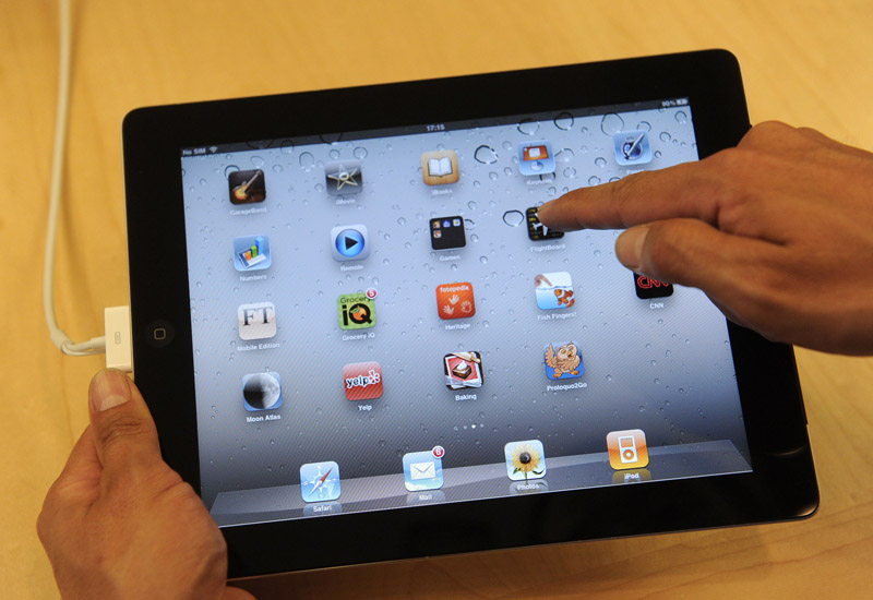 Issues over rights have dogged iPad apps.