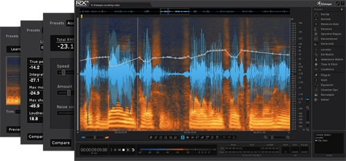 Audio, Clean, Engineer, IZotope, Music production, RX3, RX4, Software, Sound, Upgrade, Latest Products