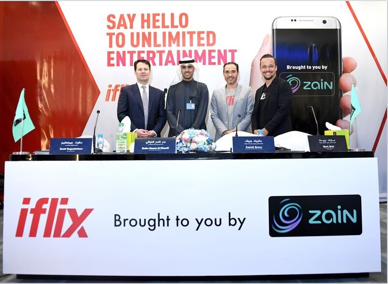 IN PICS: Zain and iflix launch joint venture