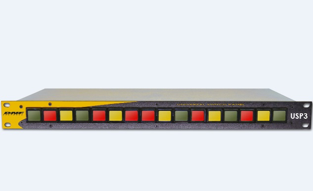 The new USP3 is a 16-button remote-control panel that can be used to quickly recall IHSE KVM presets.