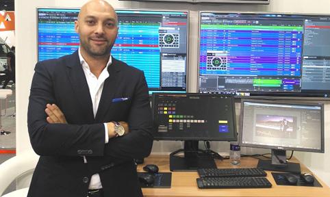 Anas Hantash director of sales for the MENA region, Imagine Communications.