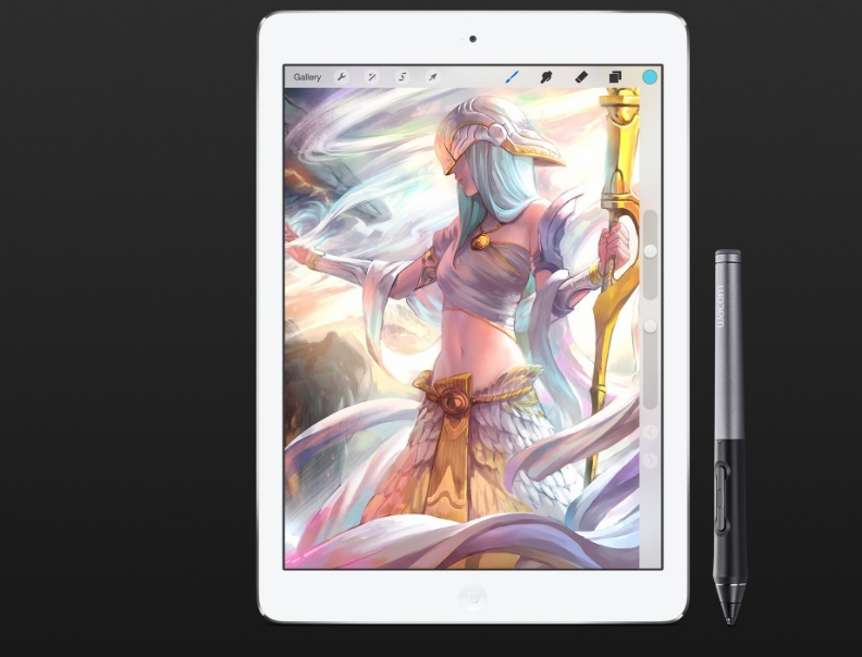 The Intuos Creative Stylus 2 can now be used with the iPad Air 2.