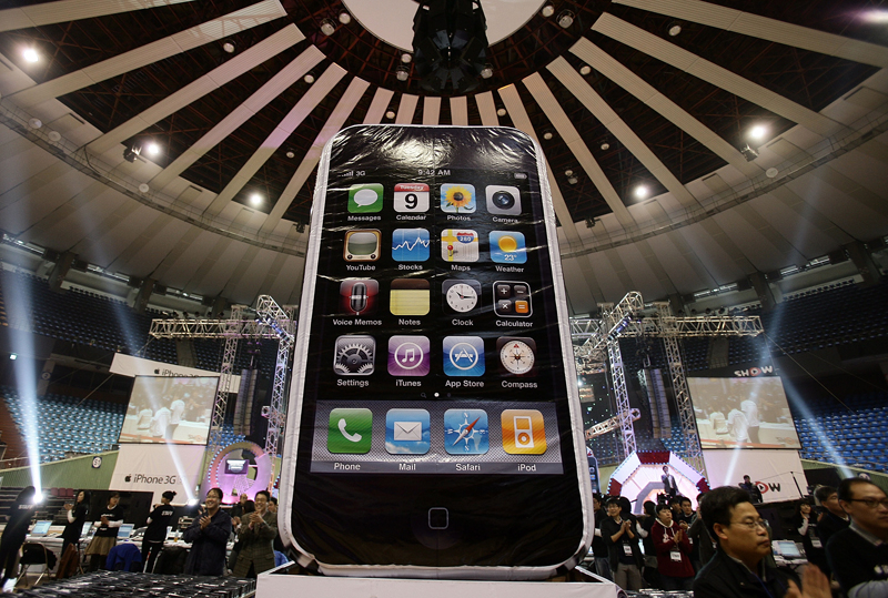 Apple's iPhone has led the booming demand for mobile e-commerce applications.