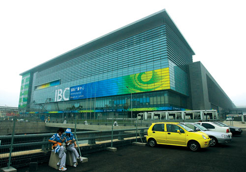 The Beijing Olympic Games International Broadcast Centre (IBC) is the largest ever constructed for an Olympic Games.