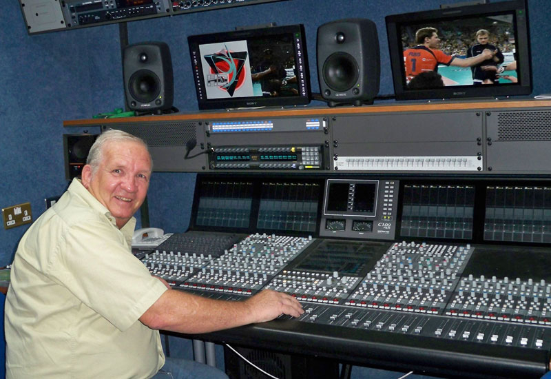 John Fee: C100 HDS console was the right size.