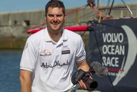 Matt Knighton of Abu Dhabi Ocean Racing.