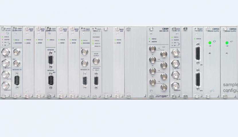 Junger Audio C8000 system.