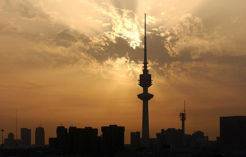 Kuwait City's skyline.