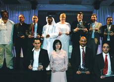 Last year's award winners.