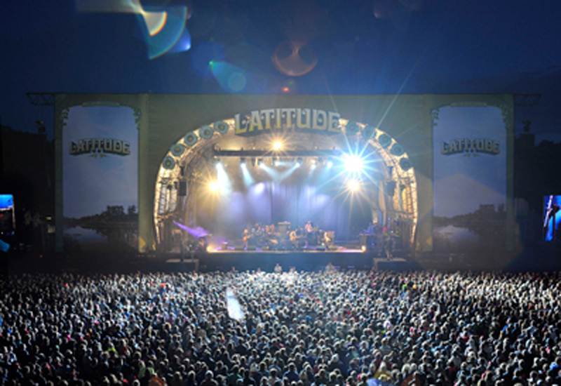 ADLIB used three consoles at the Latitude Festival, including a Yamaha PM5D for the house monitor.