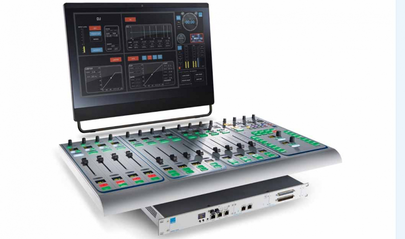 Lawo deployed Sapphire compact radio broadcast consoles in the broadcaster's studios.