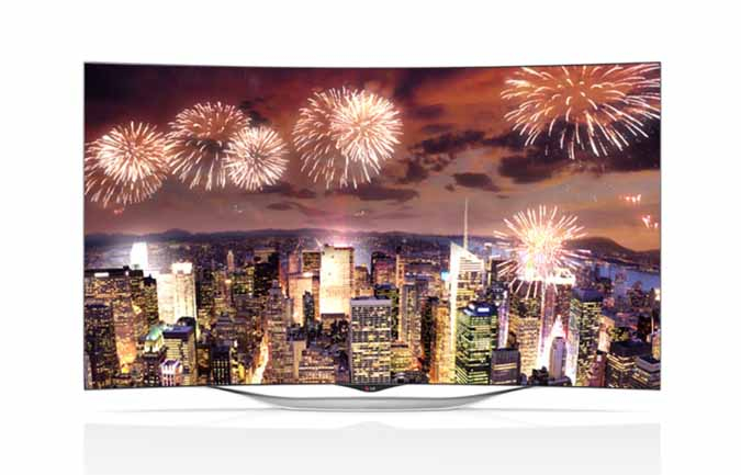 LG Electronics has launched a new 55-inch curved OLED TV, the EC9300.