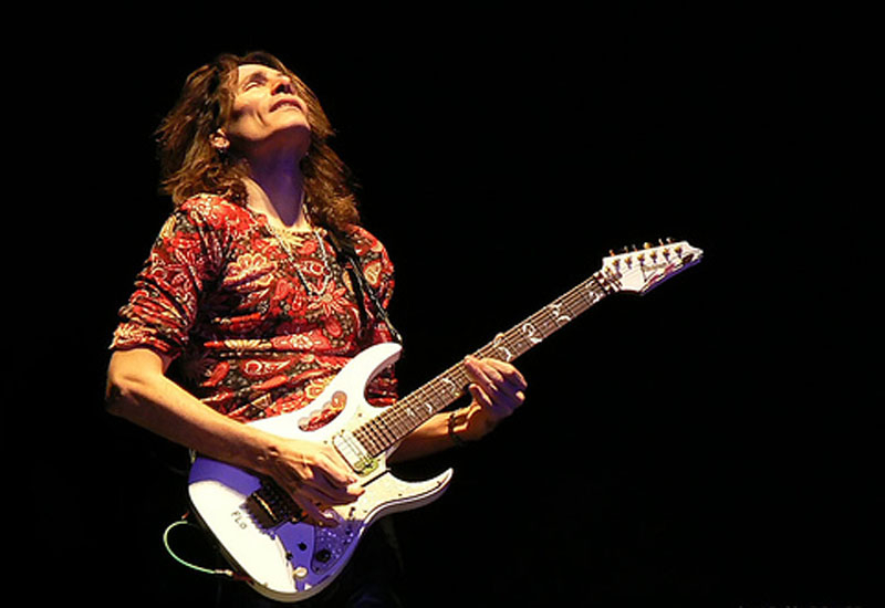 Guitar legend Steve Vai played at last year's London Music Show.