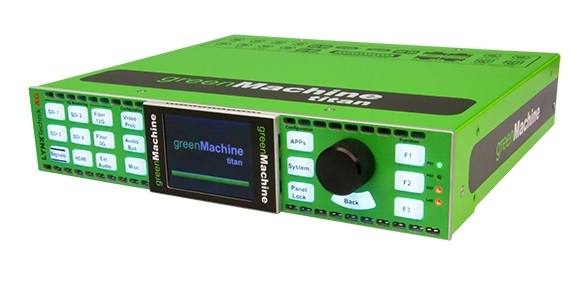 greenMachine titan is a 4 channel signal processing hardware device.