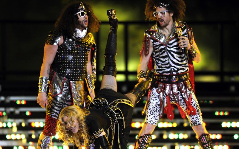 Madonna'a half time show made a lot more sense than American football.