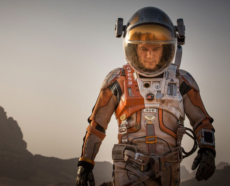 The Martian made use of Jordan's Wadi Rum area for scenes set on Mars.