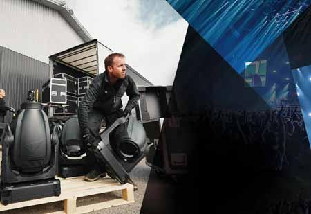 Martin Professional anticipates a busy summer season with festivals stimulating demand for MAC Viper AirFX units.