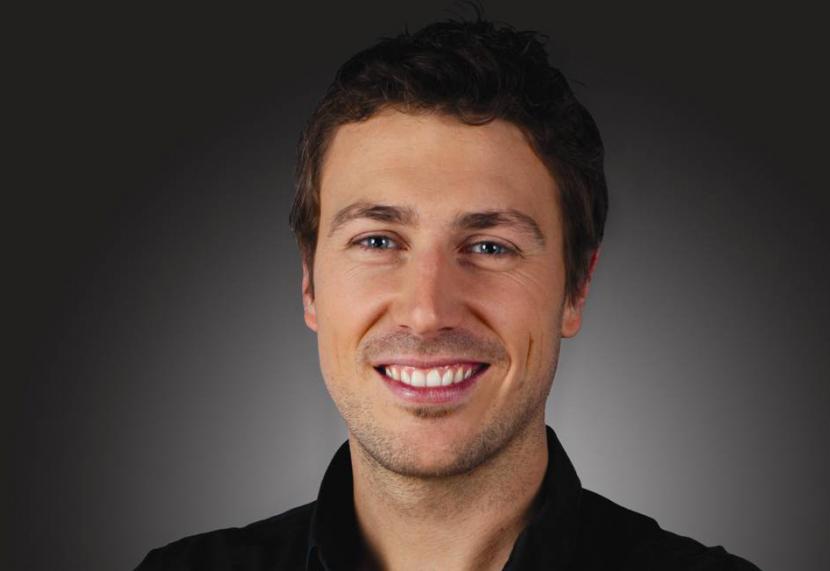 French major event lighting specialist Matthieu Larivee.
